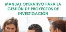 Manual Operativo para la Gestión de Proyectos de Investigación