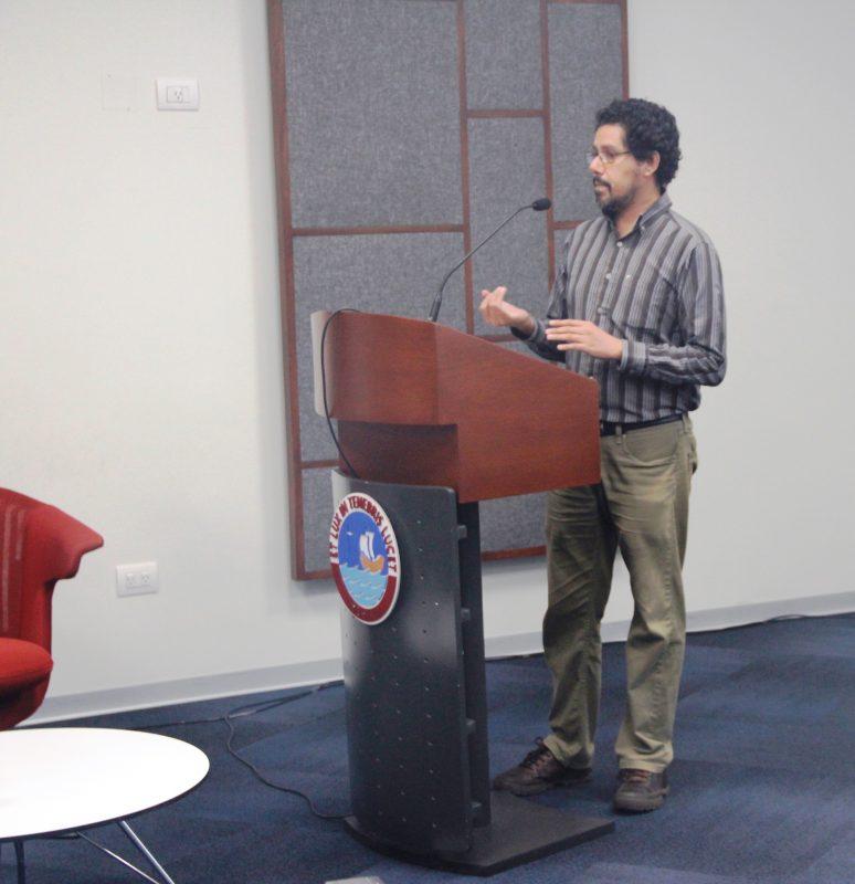 Juan Rocha Águila, coordinador de la Oficina de Estrategias para la Promoción de la Investigación.