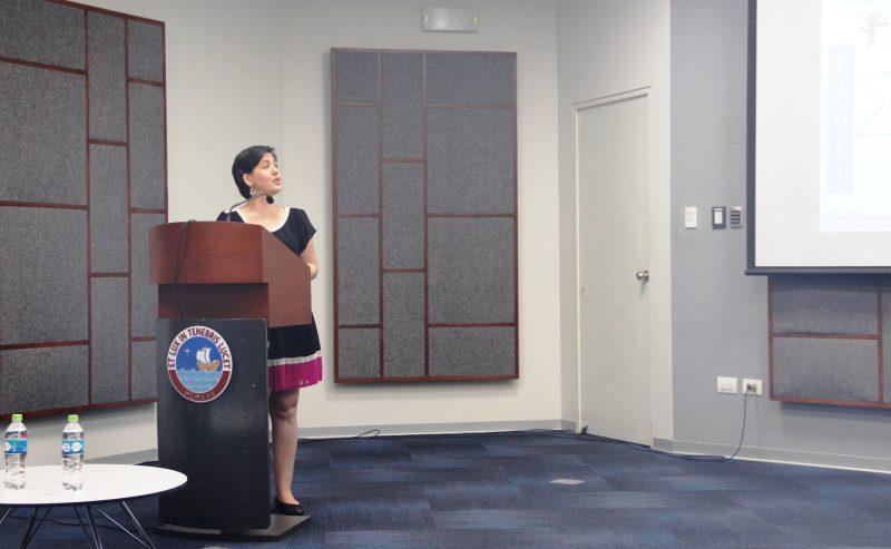 Mariana Hare, jefa de la Oficina de Estrategias para la Promoción de la Investigación.