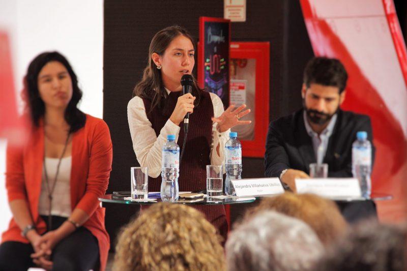 Alejandra Villanueva, investigadora de la OEIN.