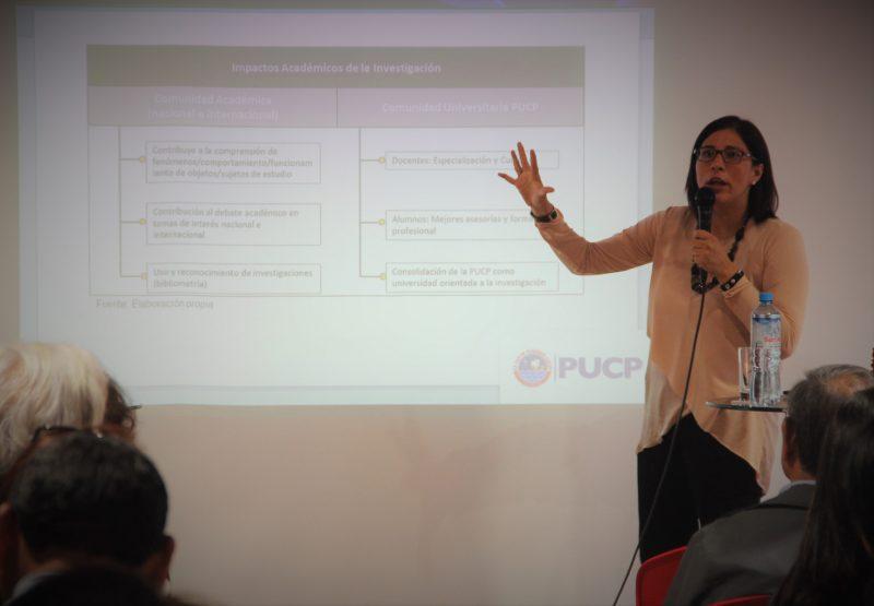 Norma Correa, docente e investigadora del Departamento de Ciencias Sociales.