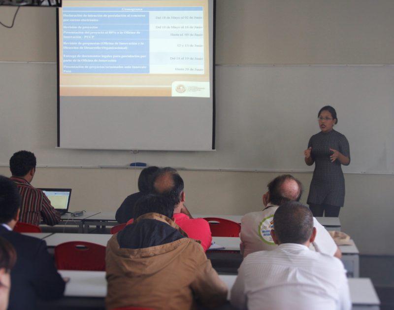 Karina Banon, coordinadora de proyectos de innovación de la DGI.