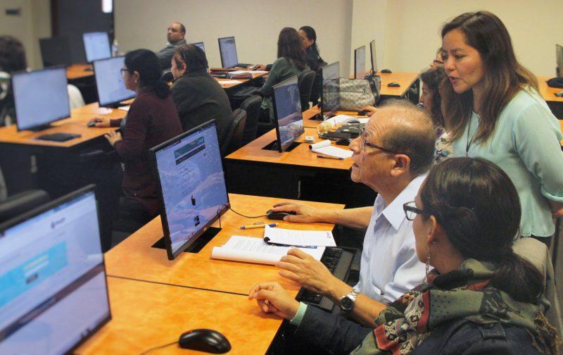 Los profesores del Departamento de Educación crearon sus perfiles en Google Scholar.