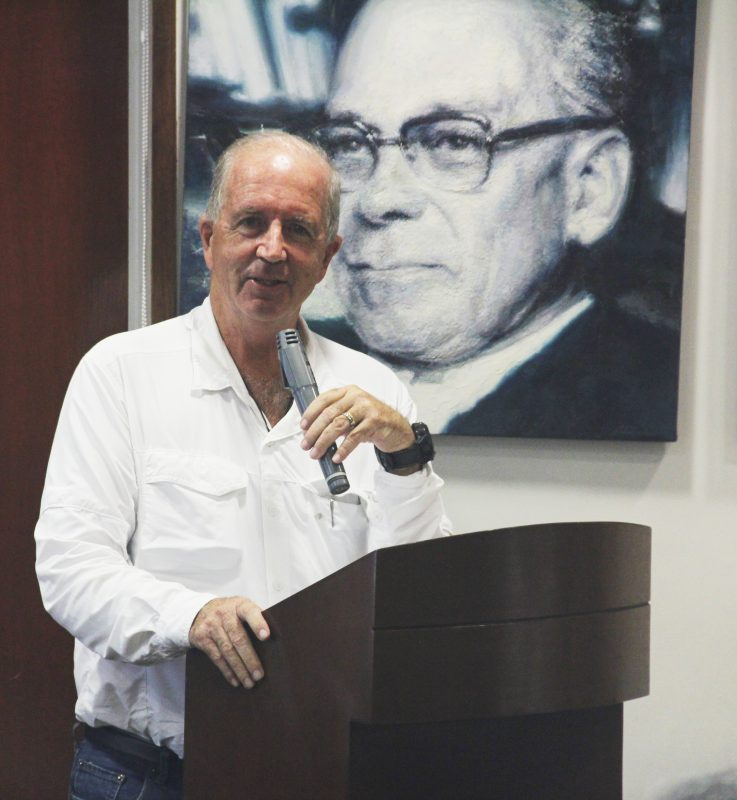 Fernando Cillóniz, gobernador regional de Ica.