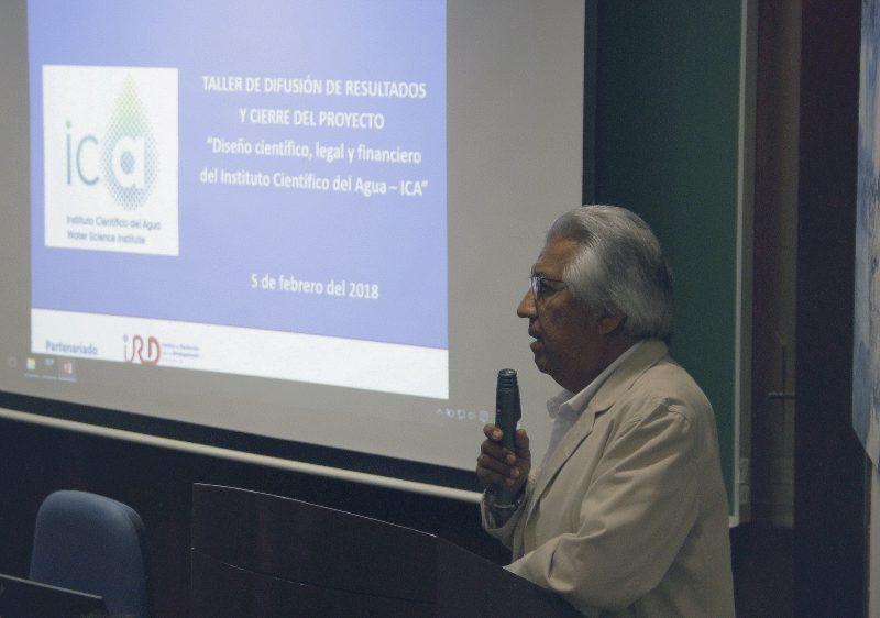 Carlos Chávez, director de la Dirección de Gestión de la Investigación